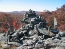 The most artistic cairn I've ever seen! by Red Rover in Trail and Blazes in Massachusetts