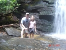 Buck and Roo at Long Creek Falls