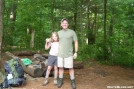 Buck and Roo at Woods Hole Shelter by buckowens in Section Hikers