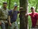 John, Mike and Steve at the NC/GA border