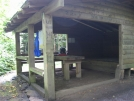 Muskrat Creek Shelter by buckowens in Section Hikers