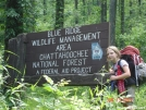 Roo at the Chattahoochie Forest sign by buckowens in Section Hikers