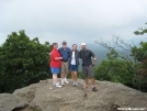 Shoeless Stickman (we named him) and family on Blood Mountain 2 by buckowens in Section Hikers
