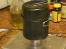 Mini Side Burner Stove by Grinder in Gear Gallery
