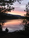 A Pierce Pond Sunset by Chocolate Bandito in Thru - Hikers