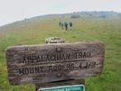 Mt Rogers Sign 2006 Compus Rose And Dirt Diva In On Trail by G-WALK in Trail & Blazes in Virginia & West Virginia