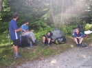 Waiting on ride to Gorham NH by G-WALK in Trail & Blazes in New Hampshire