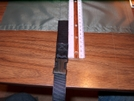 Attachment of the bottom strap.