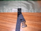 This is another picture of the lower support strap.