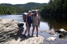 Wolf and I at Sterling Pond by gypsy in Long Trail