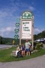 LW,me, and MrC a.k.a. pops at the Inn by gypsy in Long Trail