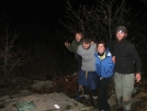 End of a Thru-Hike 12/31/06 at 11:59 PM on Springer MT. GA by Quindio in Springer Mtn Gallery