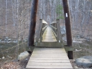 Tye River Footbridge by Walk On Boy in Trail & Blazes in Virginia & West Virginia