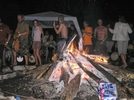 ..the Barn Fire by RiverWarriorPJ in Trail Days