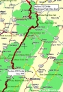 Allegheny Trail Section 2 Overview Map by Rufous Sided Towhee in Other