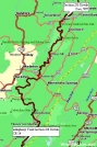 Allegheny Trail Section 3 Overview Map by Rufous Sided Towhee in Other