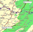 Allegheny Trail Section 4 Overview Map by Rufous Sided Towhee in Other