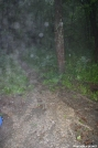 High Top Mountain Hut Rain by jewelweed in Virginia & West Virginia Shelters