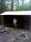 Me at Trapper John Shelter (NH) by 4eyedbuzzard in Faces of WhiteBlaze members
