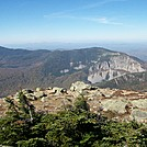 Boise Rock from Mt Haystack Summit by 4eyedbuzzard in Trail & Blazes in New Hampshire