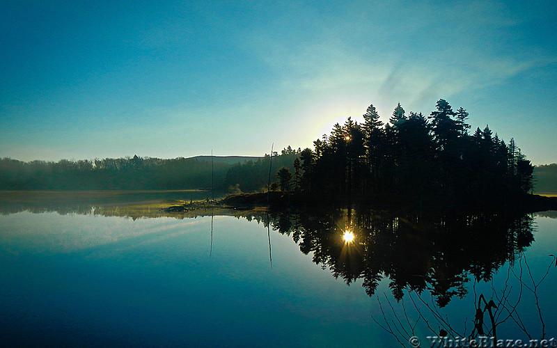Bourn Pond w/ Stratton Mountain
