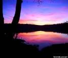 Sunset in Lye Brook Wilderness, VT by quicktoez in Views in Vermont