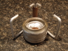 Penny Alcohol Stove Simmer Ring In Place by MagicCityMatt in Gear Gallery