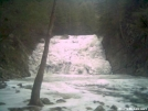 Laurel Fork Falls and it's cold. by Mantiss in Day Hikers