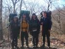 Sleepy Time, Moses, Hammerhead, and Sir Evan by Sir Evan in Section Hikers