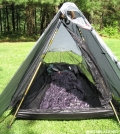 Ventilated Contrail by Quoddy in Tent camping