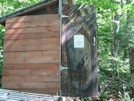 Privy Art At Birch Glen - Long Trail