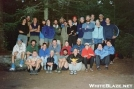 The night before crawling through the Notch by mongo in Thru - Hikers