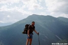 Mongo climbing to Mt Washington by mongo in Views in New Hampshire