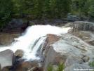 Water Fall Near Darcy Pond by B Thrash in Trail & Blazes in Maine