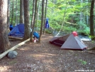 Campsite by B Thrash in Trail & Blazes in Maine