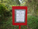 At Halfway Point by B Thrash in Sign Gallery