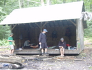 Stony Brook Shelter by rasudduth in Vermont Shelters
