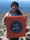 Boo Boo summiting 9-7-07 by Boo-Boo 2007 in Thru - Hikers