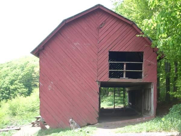 5-25-07 Overmountain Shelter