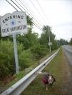 9-10-07 Road hiking into Great Barrington