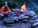 9-19-07 Mark Knope Shelter - big fire pit.