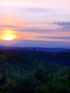 9-5-07 Sunset from Mt. Easter - CT