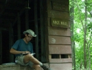 Knot Maul shelter - a little break for Journal entries by doggiebag in Virginia & West Virginia Shelters