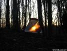 Sunset from Vandeventer Shelter