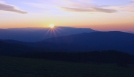 Sunset over the Smokies from Max Patch NC by Repeat in Views in North Carolina & Tennessee