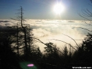 Sunrise above the clouds by Repeat in Views in North Carolina & Tennessee
