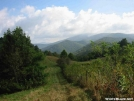View of Big Bald NC in the clouds by Repeat in Views in North Carolina & Tennessee