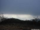Sunlight through the clouds on Cheoah Bald