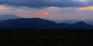 Max Patch Sunset by Repeat in Views in North Carolina & Tennessee