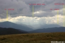 GSMNP as seen from Max Patch by Repeat in Views in North Carolina & Tennessee